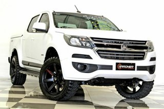 2017 Holden Colorado RG MY18 LS (4x4) White 6 Speed Automatic Crew Cab Pickup.
