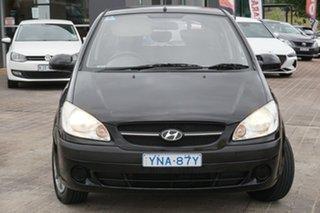 2009 Hyundai Getz TB MY09 S Black 5 Speed Manual Hatchback.
