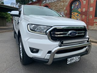 2019 Ford Ranger PX MkIII 2019.00MY XLT Arctic White 6 Speed Sports Automatic Double Cab Pick Up.