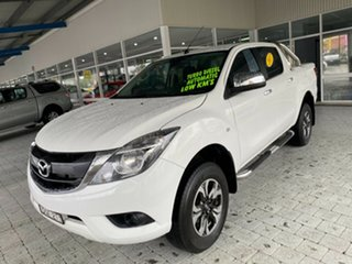 2017 Mazda BT-50 XTR - Hi-Rider Cool White Sports Automatic Dual Cab Utility.