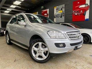 2008 Mercedes-Benz M-Class W164 ML320 CDI Iridium Silver Sports Automatic Wagon.