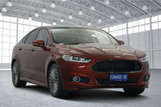2016 Ford Mondeo MD Titanium Red 6 Speed Sports Automatic Hatchback.