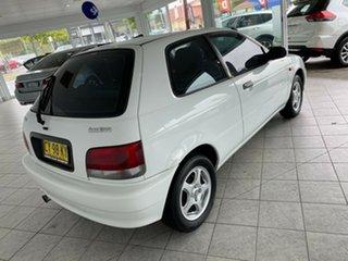 2000 Suzuki Baleno GL White 4 Speed Automatic Hatchback