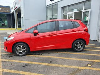 2015 Honda Jazz GF MY15 VTi Red 1 Speed Constant Variable Hatchback