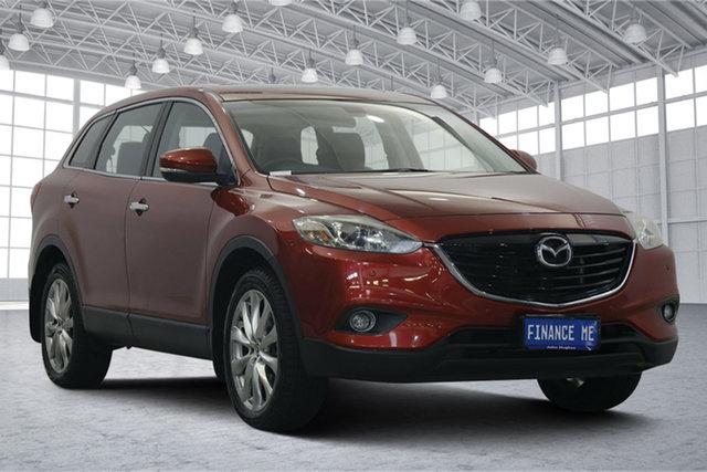 Used Mazda CX-9 TB10A5 Luxury Activematic Victoria Park, 2014 Mazda CX-9 TB10A5 Luxury Activematic Red 6 Speed Sports Automatic Wagon