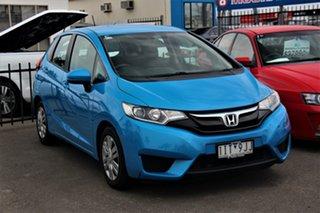 2016 Honda Jazz GF MY17 VTi Blue 1 Speed Constant Variable Hatchback.