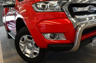 2017 Ford Ranger PX MkII MY17 XLT 3.2 Hi-Rider (4x2) Race Red 6 Speed Automatic Crew Cab Pickup.