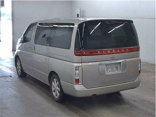 2003 Nissan Elgrand NE51 X Silver Automatic Wagon.