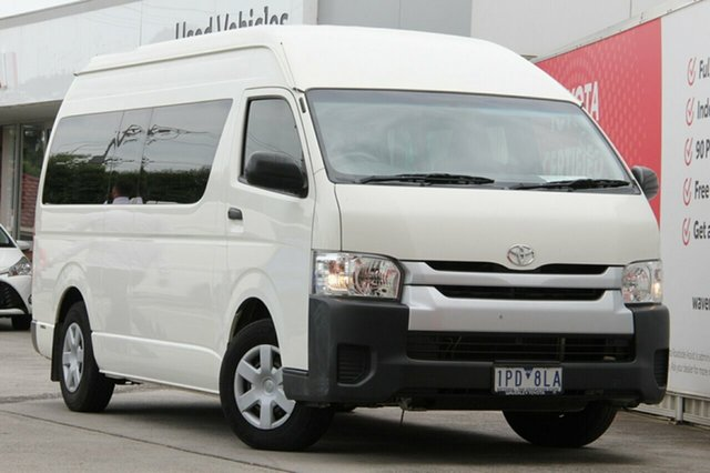 Pre-Owned Toyota HiAce Glen Waverley, Hiace Bus SLWB 3.0L T Diesel Automatic C/Bus