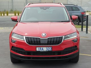 2019 Skoda Karoq NU MY20 110TSI DSG FWD Red 7 Speed Sports Automatic Dual Clutch Wagon.