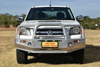 2011 Holden Colorado RC MY11 LT-R Crew Cab White 4 Speed Automatic Utility.