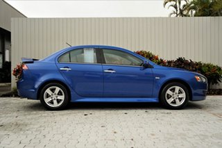 2013 Mitsubishi Lancer CJ MY13 LX Lightning Blue 5 Speed Manual Sedan.