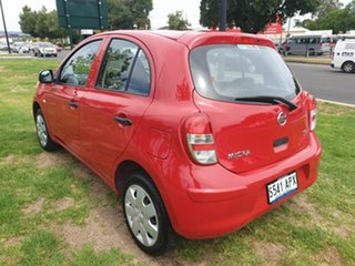 2012 Nissan Micra K13 ST-L Red 4 Speed Automatic Hatchback