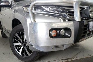2016 Mitsubishi Pajero Sport QE GLX (4x4) Silver 8 Speed Automatic Wagon.