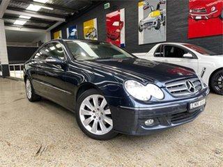 2007 Mercedes-Benz CLK-Class C209 CLK350 Elegance Blue Sports Automatic Coupe.