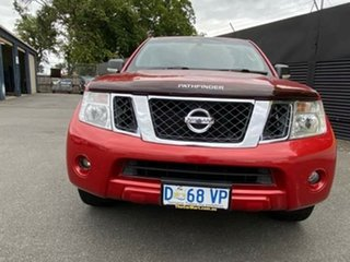 2012 Nissan Pathfinder R51 MY10 ST Tuscan Red 6 Speed Manual Wagon.