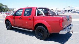 2011 Nissan Navara D40 ST-X Red 5 Speed Automatic Utility
