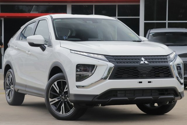 New Mitsubishi Eclipse Cross YB MY21 ES 2WD Toowoomba, 2020 Mitsubishi Eclipse Cross YB MY21 ES 2WD White 8 Speed Constant Variable Wagon