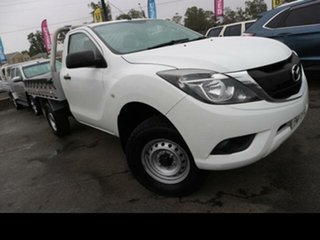 2017 Mazda BT-50 MY16 XT Hi-Rider (4x2) White 6 Speed Automatic Cab Chassis.