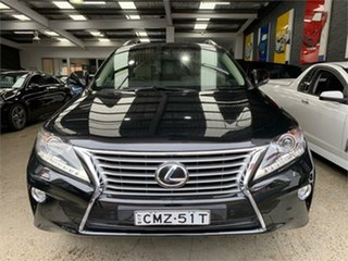 2013 Lexus RX GGL15R RX350 Luxury Black Sports Automatic Wagon.