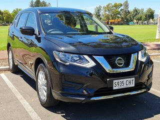 2018 Nissan X-Trail T32 Series II ST X-tronic 2WD Black/Grey 7 Speed Constant Variable Wagon.
