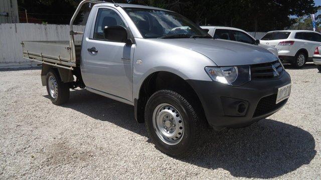 Used Mitsubishi Triton MN MY15 GL 4x2 Seaford, 2015 Mitsubishi Triton MN MY15 GL 4x2 Silver 5 Speed Manual Cab Chassis