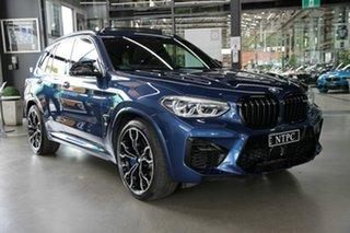 2020 BMW X3 M F97 Competition M Steptronic M xDrive Blue 8 Speed Sports Automatic Wagon