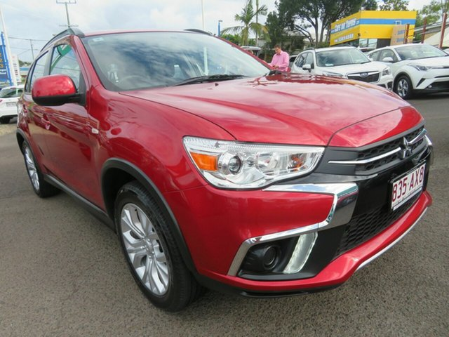 Used Mitsubishi ASX XC MY19 ES 2WD Mount Gravatt, 2019 Mitsubishi ASX XC MY19 ES 2WD Red 1 Speed Constant Variable Wagon