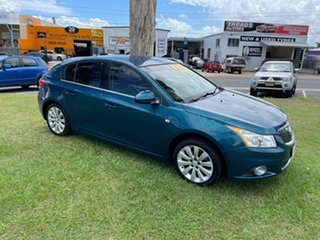 2012 Holden Cruze JH Series II MY12 CDX Green 5 Speed Manual Hatchback.