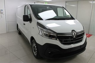 2020 Renault Trafic X82 Pro 85kW Glacier White 6 Speed Manual Van.
