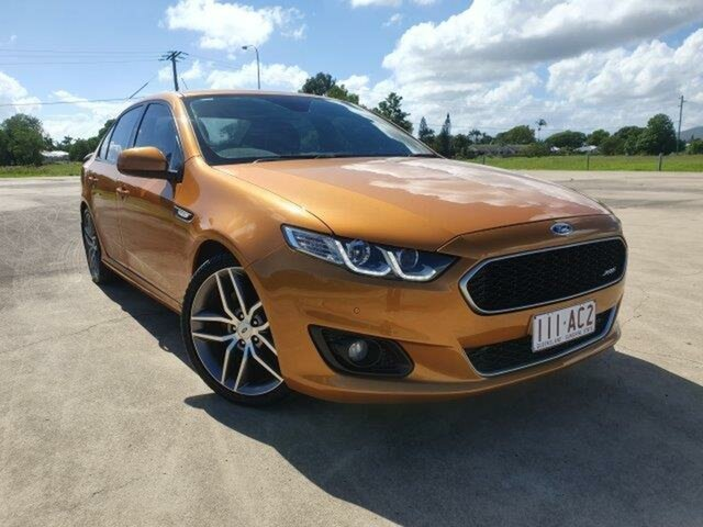 Used Ford Falcon FG X XR6 Townsville, 2015 Ford Falcon FG X XR6 Gold 6 Speed Manual Sedan