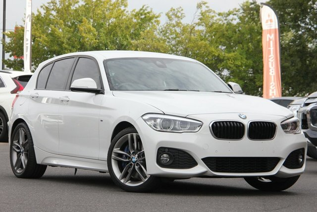 Used BMW 1 Series F20 LCI-2 125i M Sport Essendon North, 2018 BMW 1 Series F20 LCI-2 125i M Sport Alpine White 8 Speed Sports Automatic Hatchback