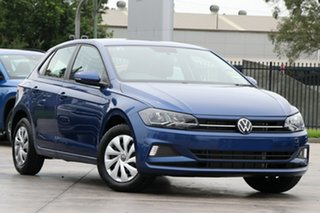 2020 Volkswagen Polo AW MY21 70TSI DSG Trendline Blue 7 Speed Sports Automatic Dual Clutch Hatchback.