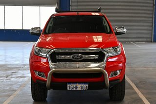 2017 Ford Ranger PX MkII MY17 XLT 3.2 Hi-Rider (4x2) Race Red 6 Speed Automatic Crew Cab Pickup
