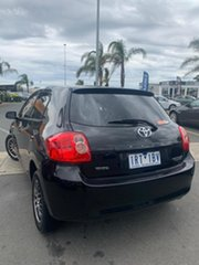 2008 Toyota Corolla ZRE152R Ascent Absolute Black 4 Speed Automatic Hatchback