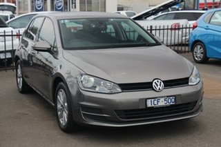 2014 Volkswagen Golf VII MY15 90TSI DSG Comfortline Grey 7 Speed Sports Automatic Dual Clutch.
