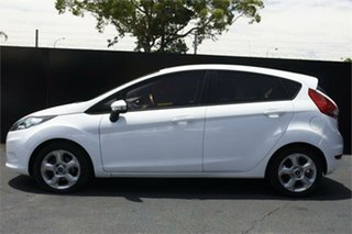 2010 Ford Fiesta WT LX White 5 Speed Manual Hatchback