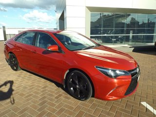 2016 Toyota Camry ASV50R Atara SX Red 6 Speed Sports Automatic Sedan.