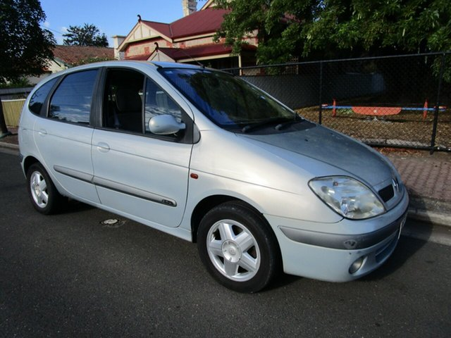 Used Renault Scenic Expression Glenelg, 2003 Renault Scenic Expression Silver 5 Speed Manual Wagon