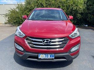 2013 Hyundai Santa Fe DM MY13 Elite Red/Black 6 Speed Sports Automatic Wagon