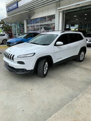 2016 Jeep Cherokee KL MY16 Longitude White 9 Speed Sports Automatic Wagon