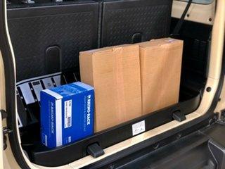 2019 Suzuki Jimny JB74 Ivory Metallic/cloth 5 Speed Manual Hardtop