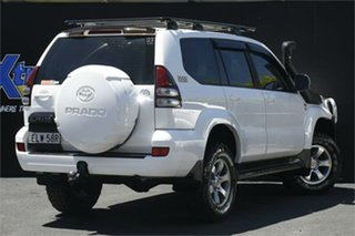 2008 Toyota Landcruiser Prado KDJ120R GXL White 6 Speed Manual Wagon