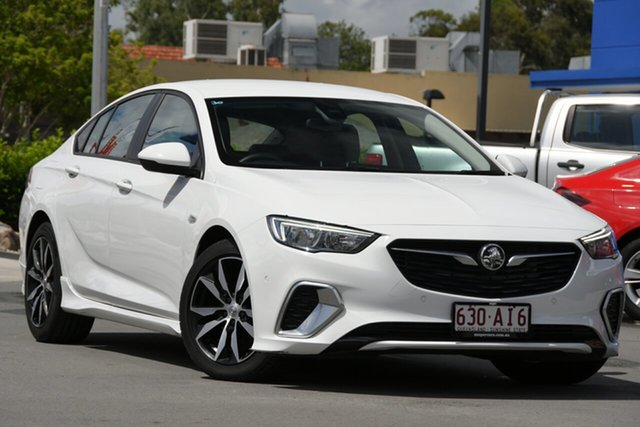 Used Holden Commodore ZB MY18 RS Liftback Aspley, 2018 Holden Commodore ZB MY18 RS Liftback White 9 Speed Sports Automatic Liftback