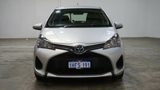 2015 Toyota Yaris NCP130R Ascent Silver 5 Speed Manual Hatchback