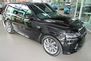 2019 Land Rover Range Rover Sport L494 20MY HSE Black 8 Speed Sports Automatic Wagon