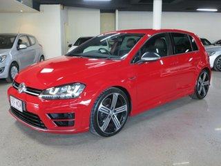 2016 Volkswagen Golf VII MY16 R DSG 4MOTION Red 6 Speed Sports Automatic Dual Clutch Hatchback.