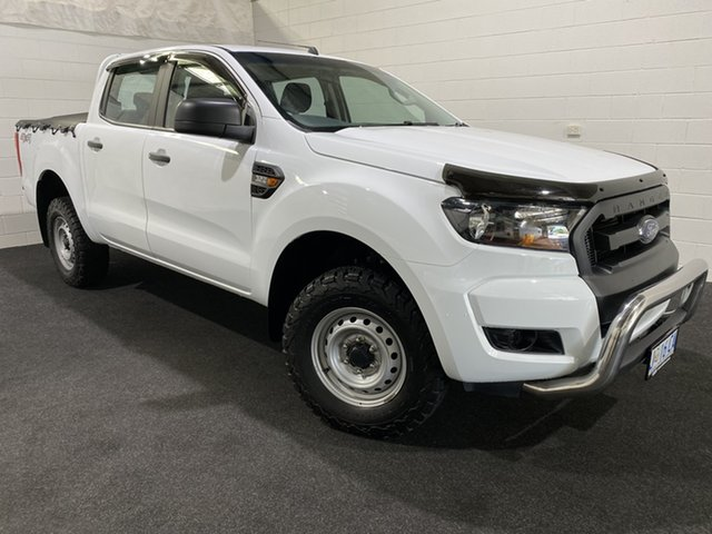 Used Ford Ranger PX MkII XL Glenorchy, 2017 Ford Ranger PX MkII XL White 6 Speed Sports Automatic Utility