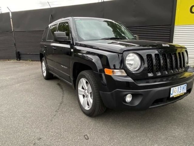 Used Jeep Patriot MK MY2012 Limited CVT Auto Stick Launceston, 2012 Jeep Patriot MK MY2012 Limited CVT Auto Stick Black 6 Speed Constant Variable Wagon