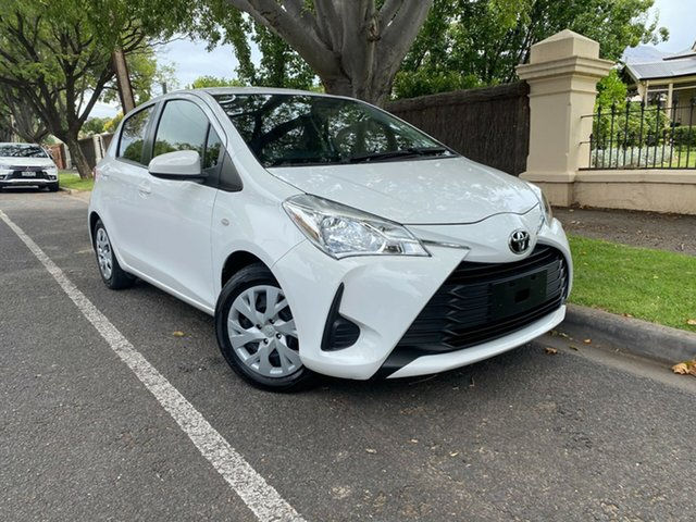 Used Toyota Yaris NCP130R Ascent Hawthorn, 2018 Toyota Yaris NCP130R Ascent White 4 Speed Automatic Hatchback
